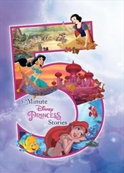 5-Minute Disney Princess Stories