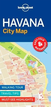 Lonely Planet Travel Guide - Havana City Map