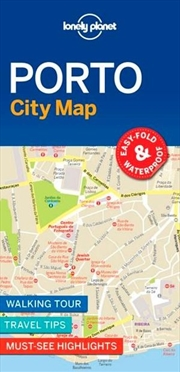 Lonely Planet - Porto City Map