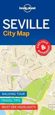 Lonely Planet Travel Guide - Seville City Map | Sheet Map