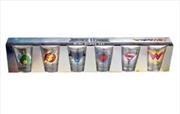 Justice League Movie - Full Team Shot Glass Set of 6