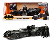 Batman - Batmobile 1989 1:24 with Batman | Merchandise