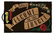 Guns N' Roses - Welcome To The Jungle Doormat | Merchandise