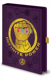 Avengers Gauntlet Led A5 Nbook