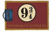 Harry Potter - Platform 9 & 3/4 Doormat
