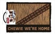 Star Wars Classic - Chewie We're Home Doormat