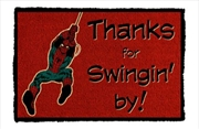 Spider-Man - Thanks for Swingin' By Doormat