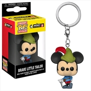 Mickey Mouse - 90th Brave Little Tailor Pop! Keychain | Pop Vinyl