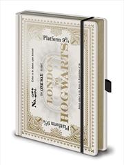 Harry Potter - Hogwarts Ticket A5 Premium Notebook