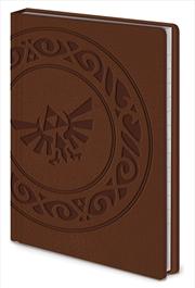 Zelda Triforce A6 Premium Notebook
