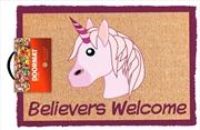 Emoji Believer Welcome Doormat