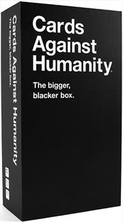 Cards Against Humanity (Bigger) Bigger Blacker Box | Merchandise