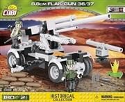 World War II - 180 Piece 8.8cm Flak Gun 36/37