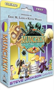 Munchkin Collectable Card Game - Cleric and Thief Starter Set | Merchandise