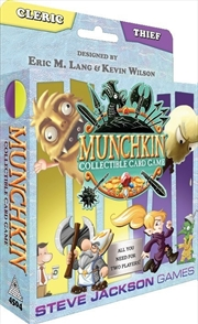 Munchkin Collectable Card Game Cleric and Thief Starter Set | Merchandise