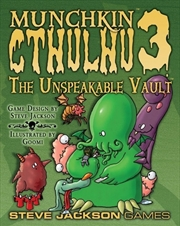 Munchkin Cthulhu 3 the Unspeakable Vault | Merchandise