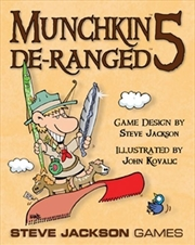 Munchkin 5 De-Ranged | Merchandise