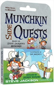 Munchkin Side Quests | Merchandise