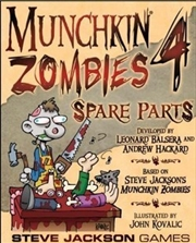 Munchkin Zombies 4 Spare Parts | Merchandise