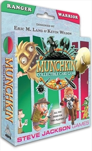 Munchkin Collectable Card Game - Ranger and Warrior Starter Set