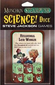 Steampunk Science Dice