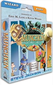 Munchkin Collectable Card Game - Wizard and Bard Starter Set