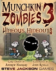 Munchkin Zombies 3 Hideous Hideouts | Merchandise