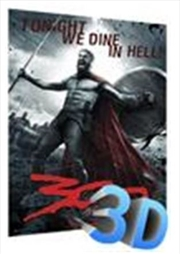 300 Movie 3D Poster