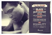 Muhammad Ali - Remembered Quote Poster