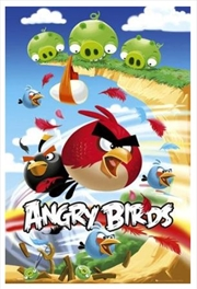 Angry Birds Big Red Poster | Merchandise