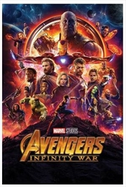 Avengers Infinity War - One Sheet Poster | Merchandise