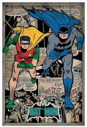 DC Comics - Batman Comic Montage Poster | Merchandise