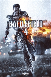 Battlefield 4 Cover Poster