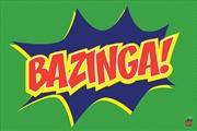 Big Bang Theory - Bazinga Poster