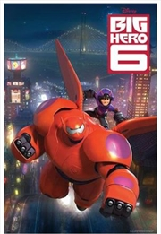 Big Hero 6 Flying Poster | Merchandise
