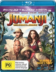 Jumanji - Welcome To The Jungle | Blu-ray 3D