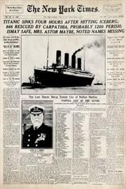 Titanic - New York Times | Merchandise