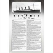 Titanic- Facts