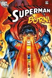 DC Comics - Superman Burn