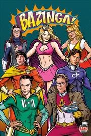 Big Bang Theory - Superheroes