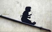 Banksy - Sliding Bubbles | Merchandise