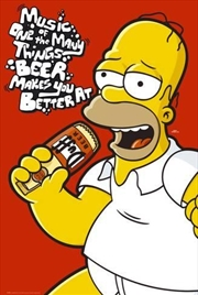 The Simpsons - Homer Music | Merchandise