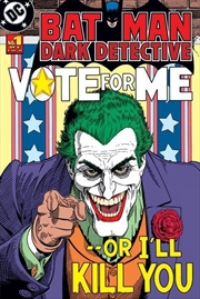 DC Comics - Batman Retro Joker Vote Me