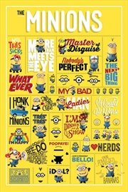Despicable Me - Minions Infographic
