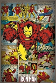 Marvel Comics - Iron Man Retro | Merchandise