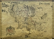 Lord Of The Rings - Special Parchment Poster