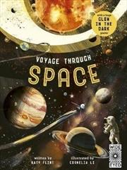 Voyage through Space Glow in the Dark | Hardback Book