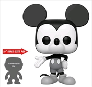 "Mickey Mouse - 90th Mickey Mouse Black & White US Exclusive 10"" Pop! Vinyl [RS] 