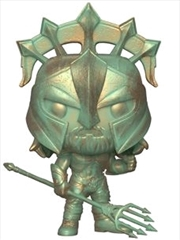 Aquaman - Arthur Gladiator Patina US Exclusive Pop! Vinyl [RS]