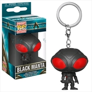 Aquaman Movie - Black Manta Pop! Keychain | Pop Vinyl